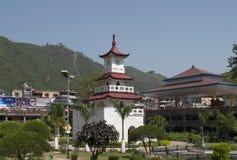 Zegarowy wierza na głównym placu grodzki Mandi indu Zdjęcie Royalty Free