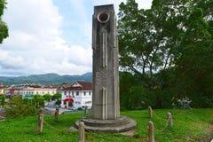 Zegarowy wierza przy Kuala Kubu Bahru Zdjęcie Royalty Free