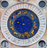 Zegarowy wierza San Marco Obrazy Royalty Free