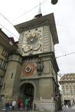 Zegarowy wierza w mieście Bern Zdjęcie Royalty Free