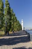 Zegarowy wierza w Montreal Kanada fotografia stock