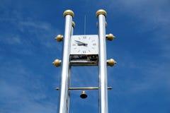 Zegarowy wierza w parku Fotografia Royalty Free