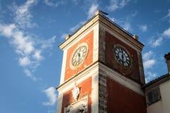 Zegarowy wierza w Rovinj Zdjęcie Royalty Free