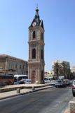 Zegarowy wierza w Starym Jaffa, Tel Aviv -, Izrael Obraz Royalty Free