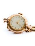 zegarowy złoto Obraz Royalty Free