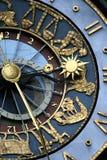 zegarowy zodiak Obrazy Stock