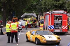 Zegaru stary wypadek samochodowy Zdjęcie Royalty Free