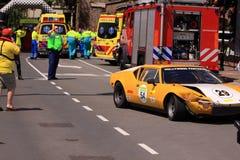 Zegaru stary wypadek samochodowy Obraz Royalty Free