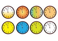 zegary ilustracja wektor