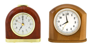 zegary odizolowywający Obrazy Royalty Free