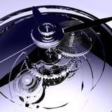 zegary w 3 d Zdjęcia Royalty Free