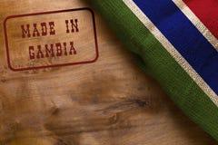 Zegel in Gambia wordt gemaakt dat stock afbeelding