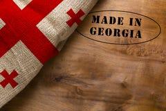 Zegel in Georgië wordt gemaakt dat stock foto