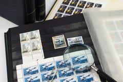 Zegel het verzamelen Royalty-vrije Stock Afbeelding