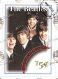 Zegel met Beatles Royalty-vrije Stock Fotografie