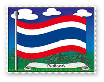 Zegel Thailand Stock Afbeeldingen