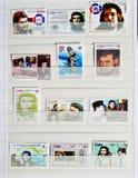 Zegel van Che Guevara royalty-vrije stock afbeelding