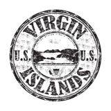 Zegel van de Eilanden van Verenigde Staten de Maagdelijke vector illustratie
