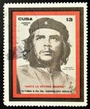 Zegel van Ernesto Che Guevara stock foto's