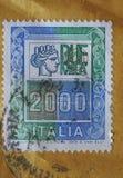 Zegel van Italië Royalty-vrije Stock Afbeeldingen