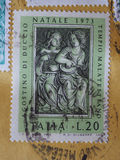 Zegel van Italië Royalty-vrije Stock Foto's