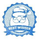 Zegel van Santa Claus Stock Foto