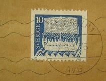 Zegel van Zweden royalty-vrije stock afbeeldingen