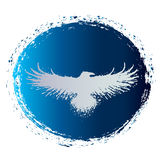 Zegel vliegende adelaar Stock Foto