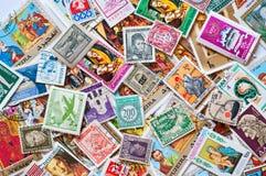 Zegels van de Wereld Stock Fotografie