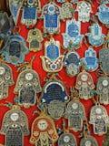 Zegen voor het levenshangers met Hebreeuwse teksten Royalty-vrije Stock Afbeelding