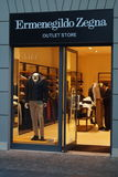 Zegna store Royalty Free Stock Photography