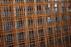 Zehn Gitterarmaturen Lizenzfreie Stockfotografie