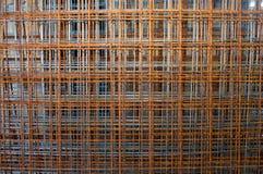 Zehn Gitterarmaturen Stockfoto
