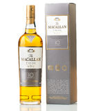 Zehn Jahre alte schottische Whisky Macallan Stockbild