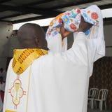 ZEHN JAHRE des PRIESTERS Priesthood Lizenzfreie Stockbilder