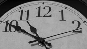 Zehn Minuten vor elf O-` Uhr Stockfotos