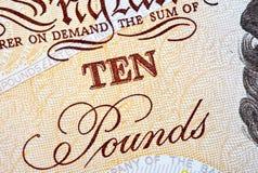 Zehn Pfund Lizenzfreie Stockbilder