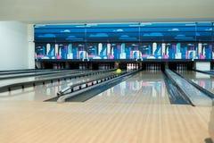 Zehn Pin Bowling Stockbilder