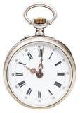 Zehn Uhr auf Skala der Retro- Uhr Lizenzfreie Stockbilder