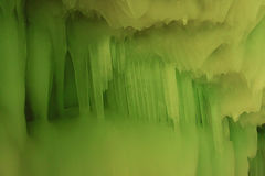 Zehntausendeishöhle Stockfoto