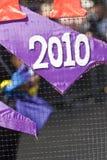 Zeichen 2010 von der ELIMU Paddington Kunsthin- und herbewegung Lizenzfreie Stockfotografie