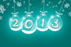 Zeichen 2013 Lizenzfreies Stockfoto