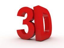 Zeichen 3D Stockbild
