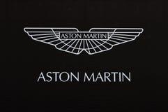 Zeichen Aston-Martin Stockfoto