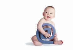 @ Zeichen-Baby Lizenzfreie Stockfotos