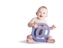 @ Zeichen-Baby Lizenzfreie Stockbilder