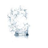 Zeichen C des Wasseralphabetes Stockfotos
