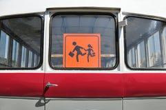 Zeichen der Kinder Stockbild