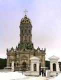 Zeichen der Kirche in Dubrovitsy Stockfoto