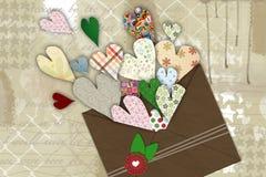 Zeichen der Liebe Stockbild